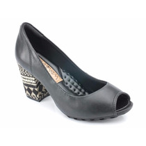Sapato Peep Toe Conforto Ramarim 99202