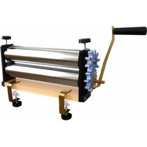 Cilindro Manual Pão Massa Doro 28 Cm Engrenagem Alumínio