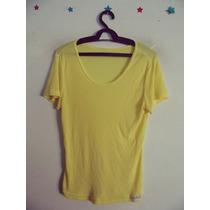 Blusa Feminina Amarela Manguinhas Cód. 97