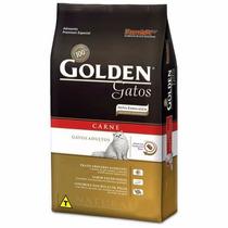 Ração Premier Golden Gatos Adultos Carne 3kg