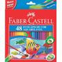 Lápis De Cor Ecolápis Aquarelável 48 Cores Faber Castell