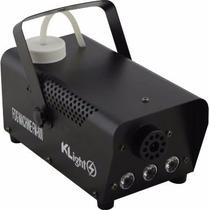 Kit Maquina De Fumaça 600w C/ 3 Leds Pro C/ Controle Nf-e