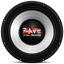 Alto Falante 12 1100w Rms Bravox Rave Pancadao Medio Grave
