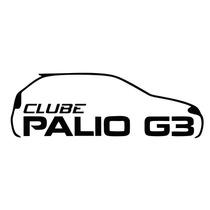 Adesivo Decorativo Parabrisa Carro Club - Clube Do Palio G3