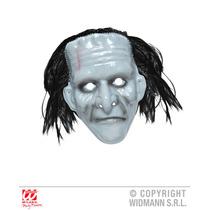 Frankenstein Costume - Máscara Monstro Pvc Com Cabelo Horror