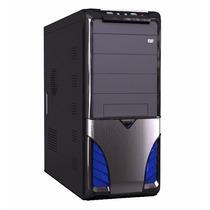 Gabinete P/ Pc Computador Maxxtro Taurus Blue Com Fonte 312w