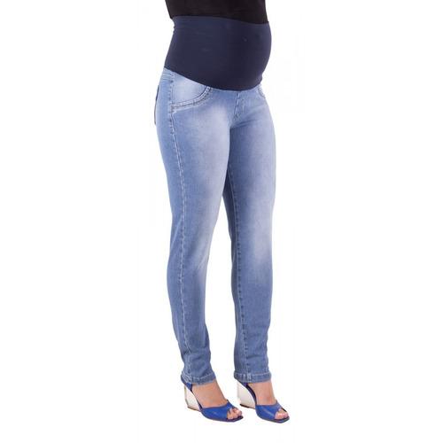 Calça Jeans Gestante Skinny Luciana