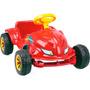 Carro A Pedal Speedplay Vermelho