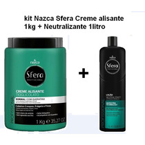 Creme Alisante Sfera Normal 1kl +neutralizante 1000ml