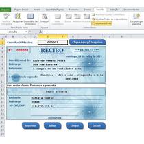 Recibo Fácil, Excel, Planilha, Editável