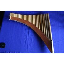 Flauta Pan 29 Tubos + Manual Pratico + Cd Audio Instrumental