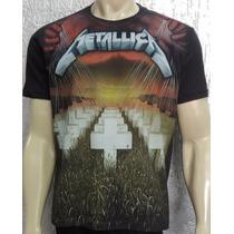 Camiseta Premium - Metallica - Master Of Puppets