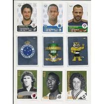Figurinhas Álbum Campeonato Brasileiro 2013 - Panini