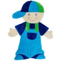 Tapete Para Quarto De Bebê Menino Azul Lb505