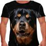 Camiseta Cachorro Rottweiler Masculina