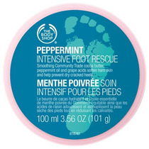 The Body Shop - Peppermint Intensive Foot Rescue - Menta
