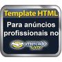 Template Editavel Html P/ Anuncio Mercado Livre Prof - 2015