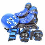 Patins Kit Roller Roxo Ou Azul