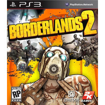 Jogo Borderlands 2 Ps3 Game Playstation 3 Tiro Mídia Física