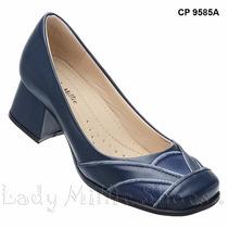 Sapato Boneca Estilo Retro Nr.37 (palmilha Sistema Comfort)