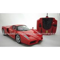 Carro Carrinho Controle Remoto Ferrari Enzo Dtc 1/16 Licenc.