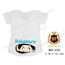 Blusa Bata Gravida Gestante Bebe Espiando Japonês Japonesa