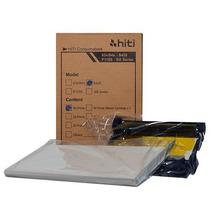Papel E Ribbon Impressora Hiti S420 Com Chip - Promoção!
