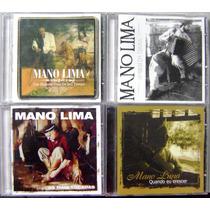 Coletânea 4 Cds Mano Lima - Discografia