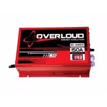 Fonte Automotiva Overloud 150a Bivolt Carregador Bateria Som