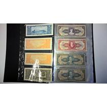 Coleção Cédulas Brasileiras-cruzeiros,cruzados-frete Grátis