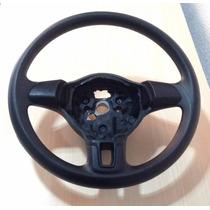 Volante Vw Gol G6 3 Travas Modelo Original Sem Tampa Buzina
