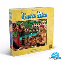 Jogo Puerto Rico De Tabuleiro Novo Lacrado Ref 03132 - Grow