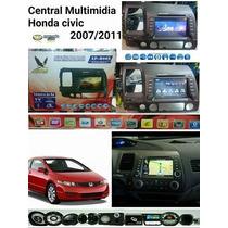 Central Multimídia Original Honda Civic Original 2007 - 2011