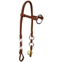 Cabeçada De Argolas Inox Luxo Para Cavalo Ou Mula - Oferta