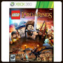 Lego The Lord Of The Rings O Senhor Dos Anéis Xbox 360