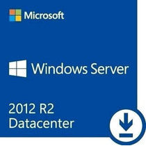Licença Windows 2012 Server R2 Datacenter Fpp C\ 50 Cals Nfe