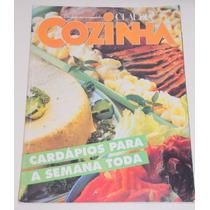 Revista Claudia Cozinha Número 384- Setembro De 1993