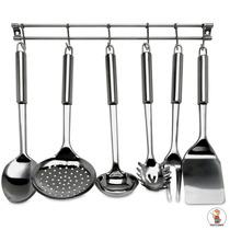 Conjunto De Utensílios Para Cozinha Com Suporte Mimo Style