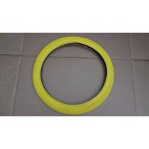 Pneu Amarelo Aro 20 Caloi Cross Extra Freestyle Nylon Bmx