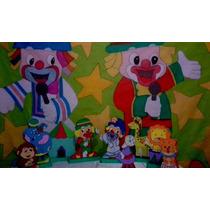 Kit Festa Infantil Com Painel Patati E Patata Pronta Entrega