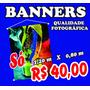 3 Banner Fotográfico Propaganda - Eventos - Alta Qualidade