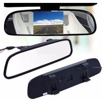 Espelho Retrovisor Monitor Para Câmera De Ré Tfl Lcd