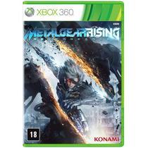 Jogo Metal Gear: Rising Revengeance Para Xbox 360 (x360)