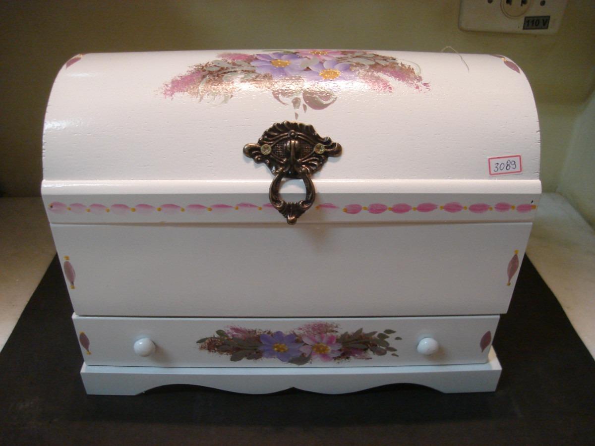 3089# Baú De Madeira Porta jóias Com Gaveta R$ 68 00 no  #845E47 1200x900