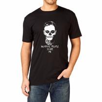 Camiseta American Horror History Normal People Camisa