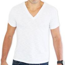 Camiseta Masculina Gola V Flame 100% Poliester Sublimação