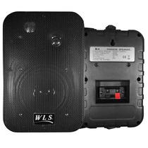 Caixa Acústica Som Ambiente Wls M4 Preta 50w Par Promoção !