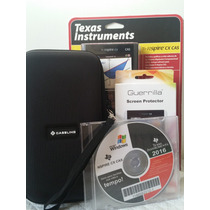 Calculadora Texas Ti-nspire Cx Cas+case+pelicula+cd Master