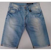 Bermuda Jeans Masculina Da John John Denim