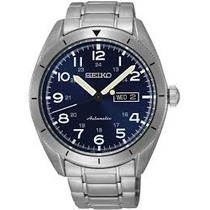 Relógio Seiko Srp707k1 Automatico Masculino Azul Importado